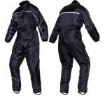 rain suit one piece in taffeta fabric?>
