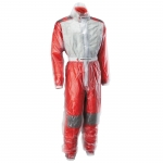 RAIN SUIT TRANSPARENT CLEAR
